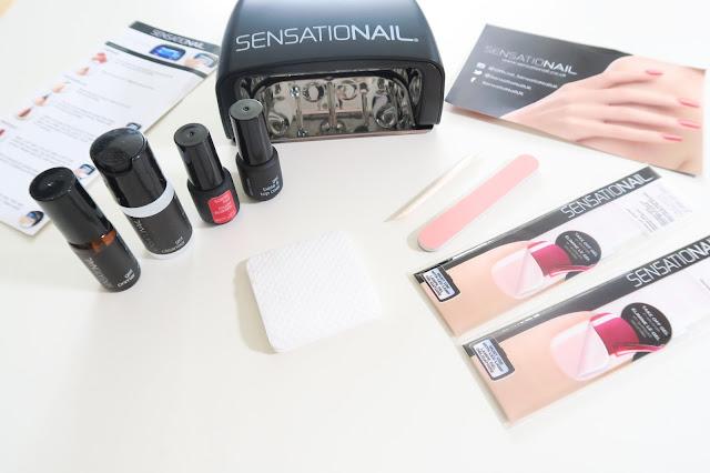 Review Sensationail Gel Starter Kit in Scarlet Red