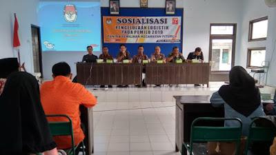 Panitia Pemilihan Kecamatan Pituruh Sosialisasi Pengelolaan Logistik dan E-KTP