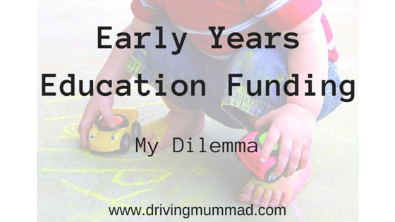 Early Years Funding - Blog Title