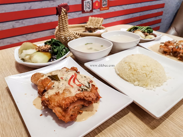 Grilled Butter Chicken Hidangan Dinanti Di The Chicken Rice Shop
