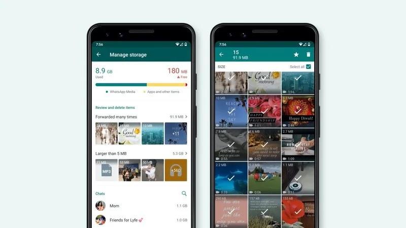 Fai spazio sul tuo WhatsApp eliminando contenuti ricevuti