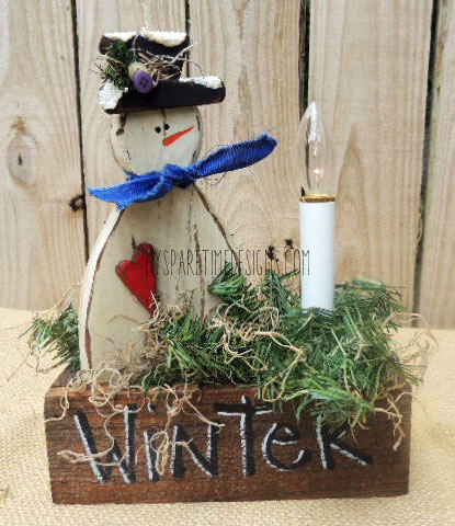 winter light box