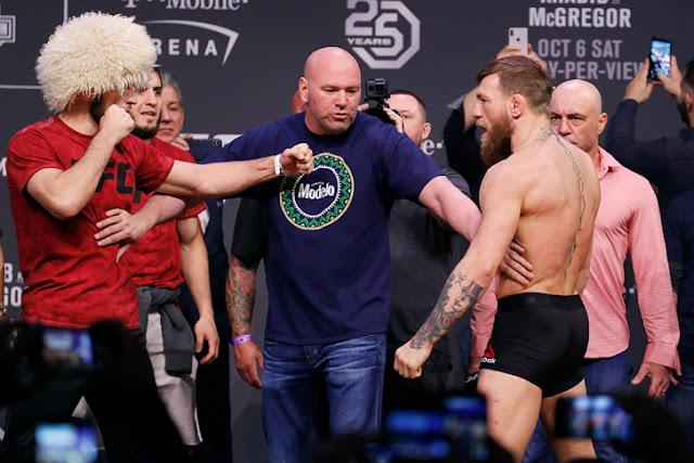 UFC 229 Live Results : Nurmagomedov vs McGregor