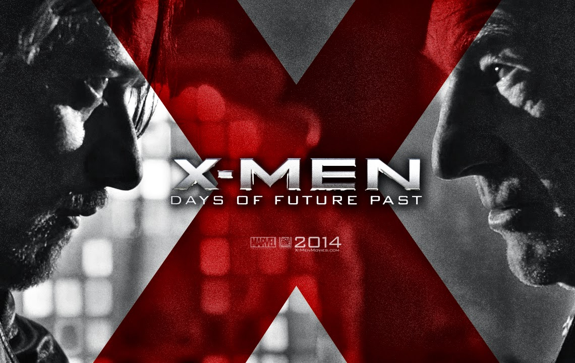 Picture of Logo X-Men: Days of Future Past Film title screen shot