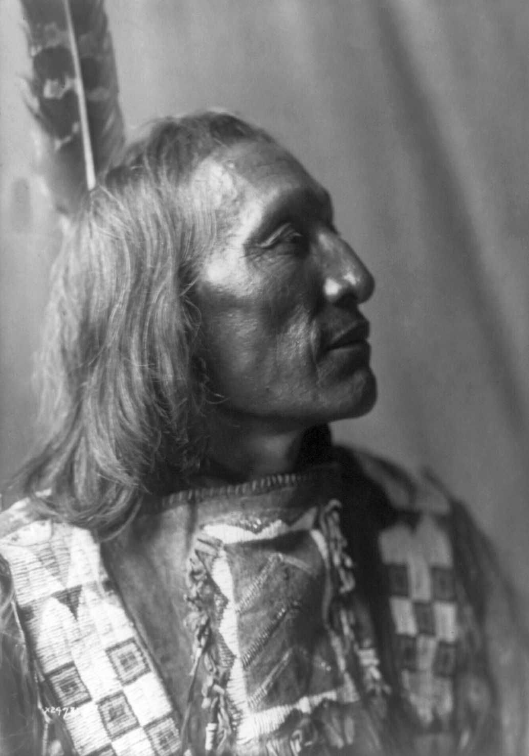 History In Photos Edward S Curtis Plains Indians