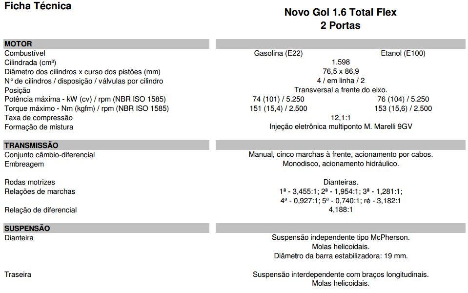 Vw Gol G6 2014 Versões Básicas Fotos Preços E Ficha Técnica