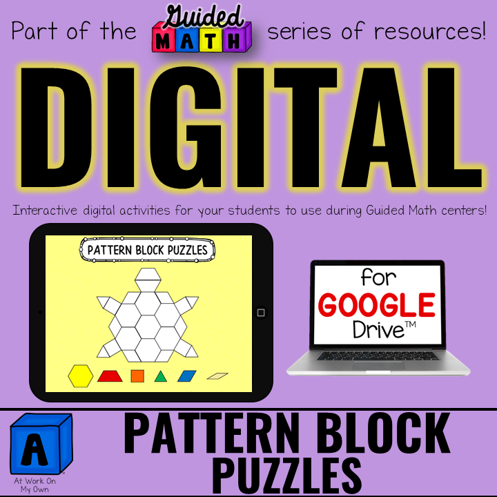 Digital Pattern Block Puzzles