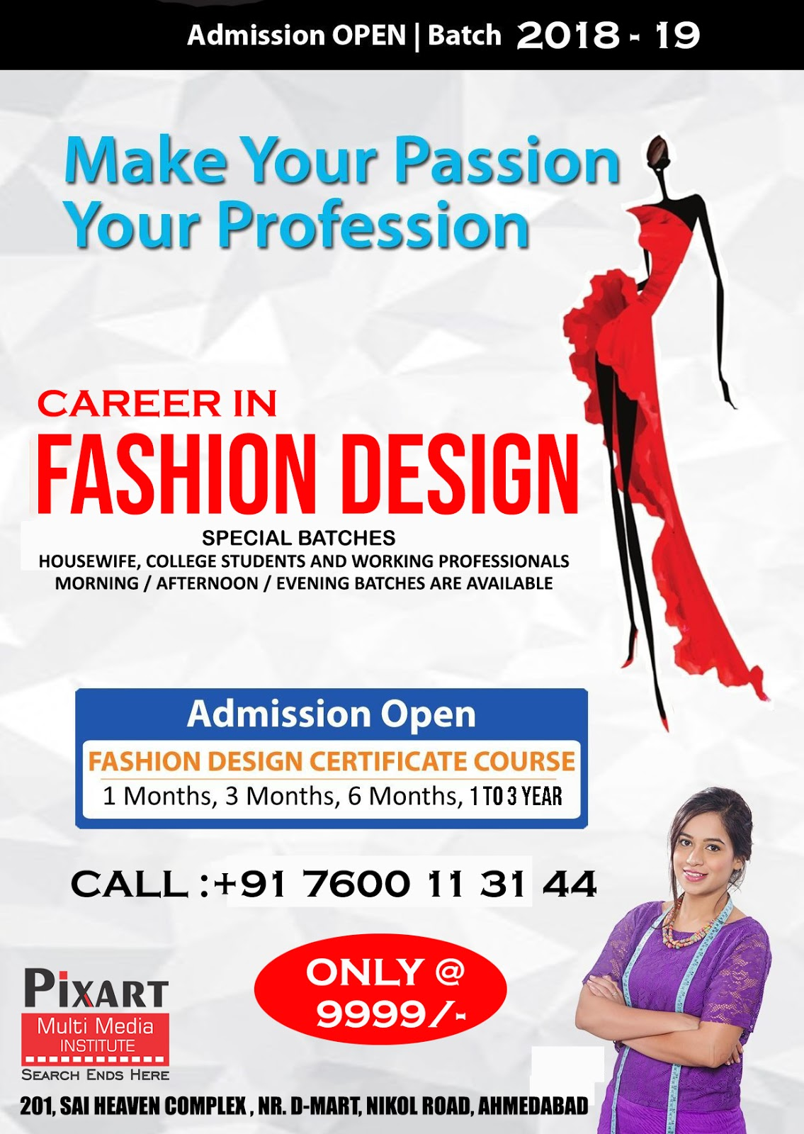Fashion Design Course Nikol Rs 9999