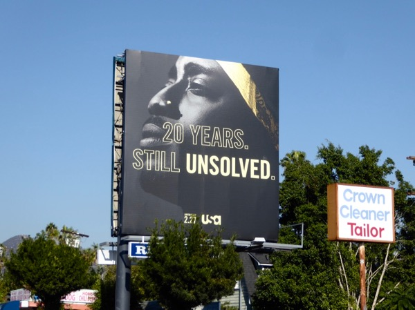 Tupac Unsolved billboard