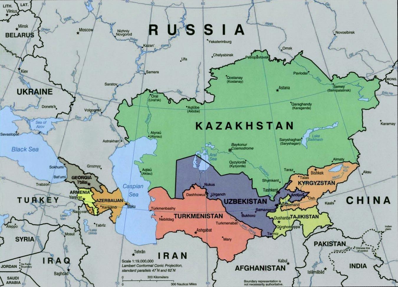Regional strategic estimate caucasus