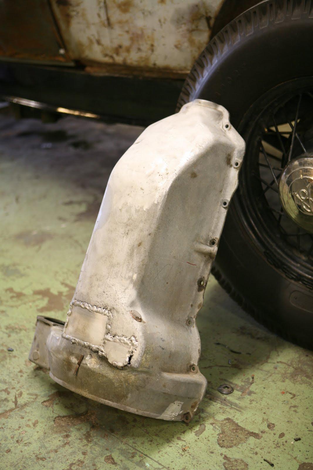 PLANET MOTHERFUCKERS 1932 Ford alumium oil pan