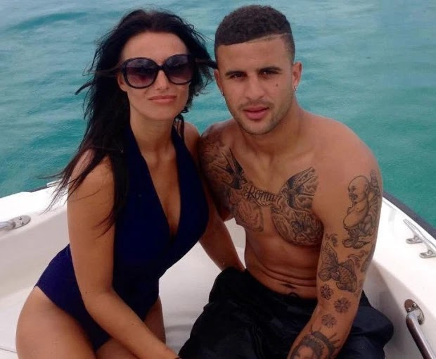 Man City star Kyle Walker's ex meets with lawyers as she seeks to get share of his $30m fortune after he impregnated Lauryn Goodman