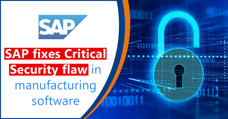 SAP Fixes Critical Security Flaw