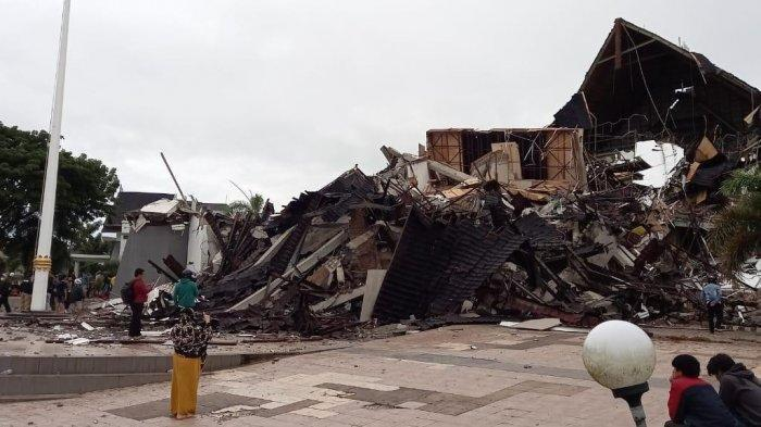 Update terkini Perkembangan Gempa Sulawesi Barat