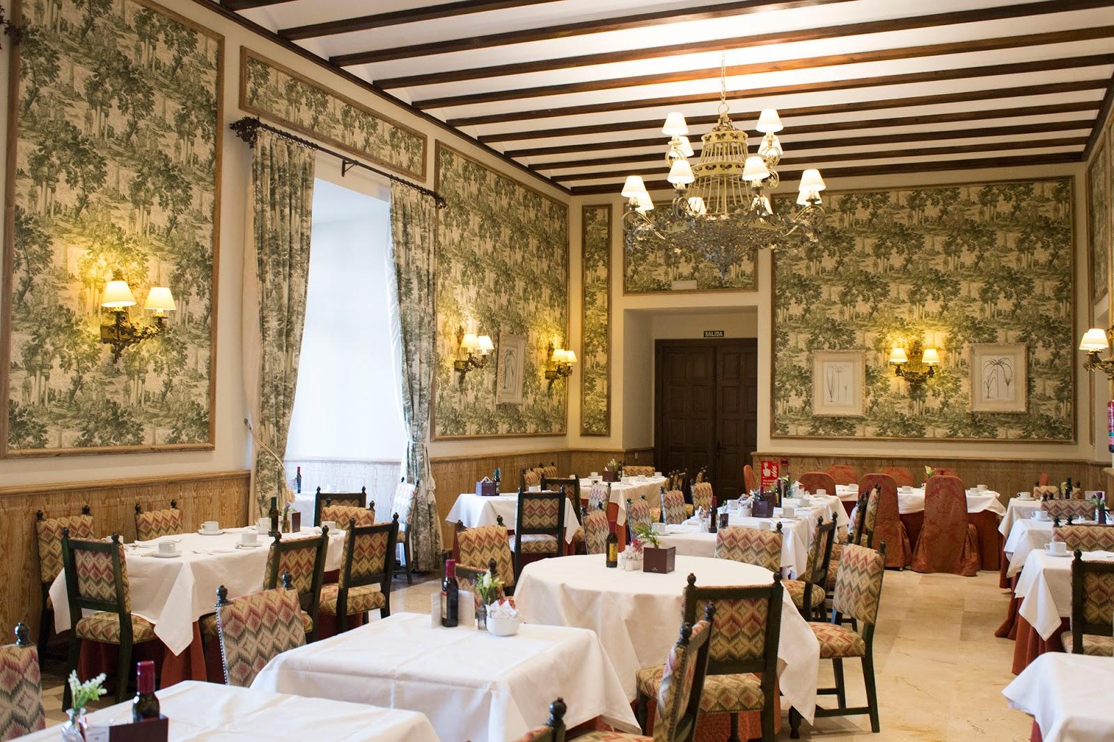 lerma burgos spain castile leon parador hotel ducal palace beautiful village restaurant