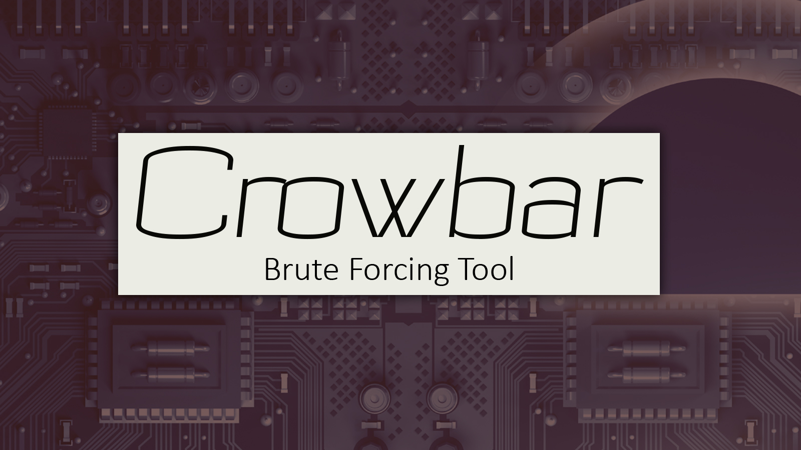Crowbar - Brute Forcing Tool