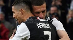 رونالدو يقود يوفنتوس لتحقق فوز كاسح على كالياري باربع اهداف وهاتريك من رونالدو في الدوري الايطالي