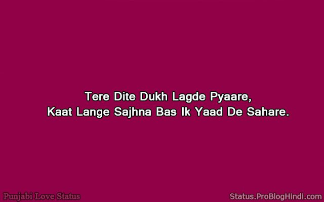 heart touching lines punjabi