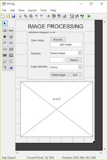 Desain GUI dengan matlab