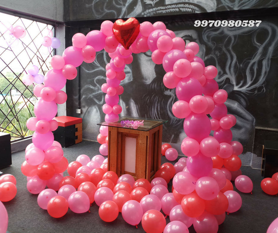 Best Birthday Party Planner Birthday Decorator Balloon Decorators In Pune Balloon Decoration Helium Balloons Near Me