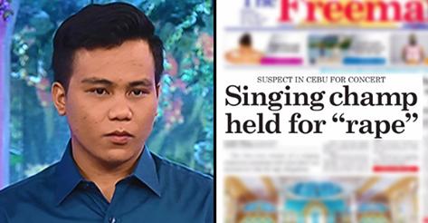 2uzCIZH BREAKING NEWS: Noven Belleza, 'Tawag Ng Tanghalan' Grand Champion Arrested For Alleged Rape In Cebu