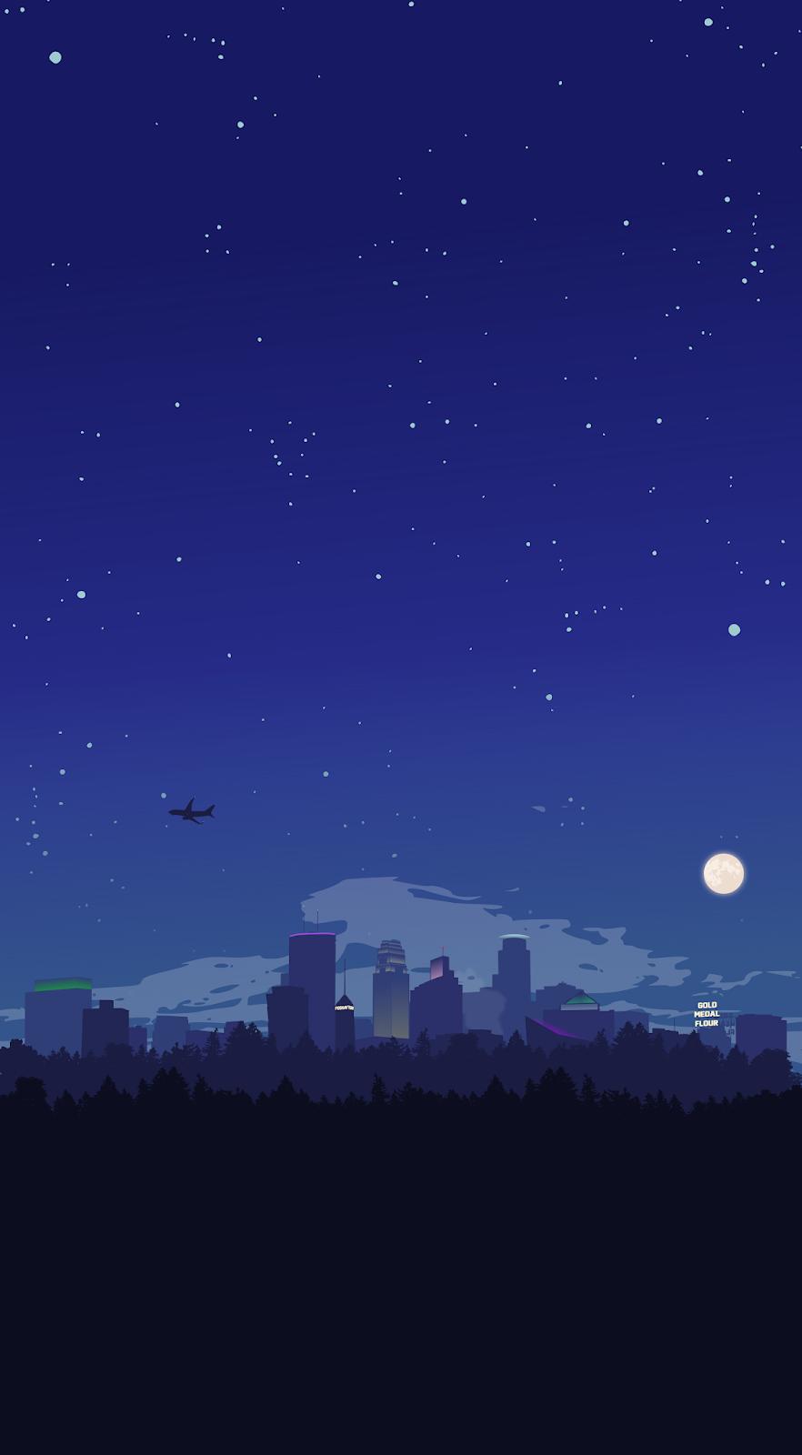Minneapolis at night [OC]