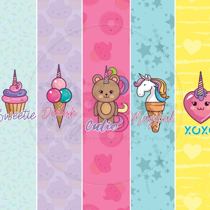 Cutee FREEBIE Wallpaper Set