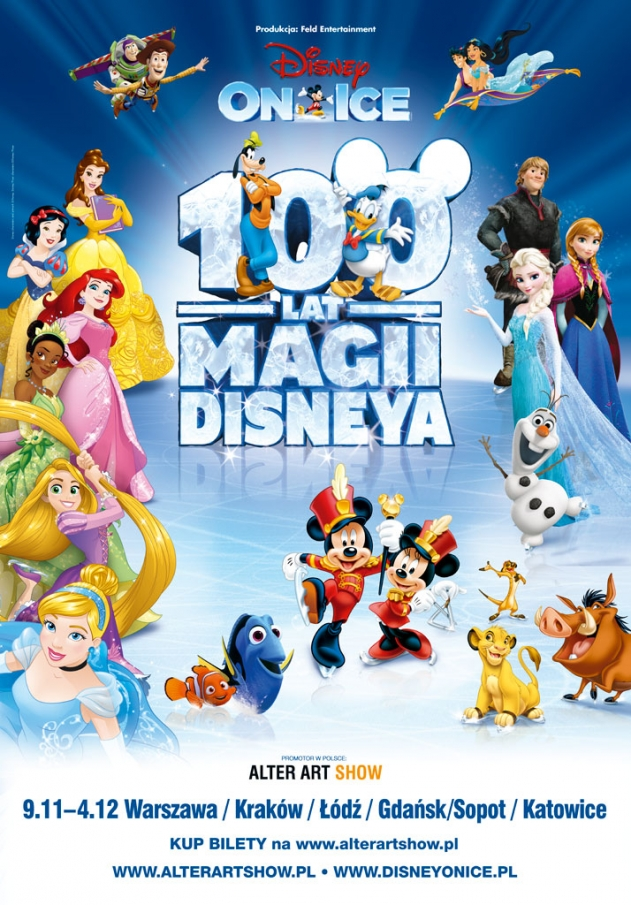 Disney On Ice: 100 lat magii Disneya