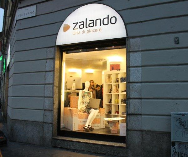 Events temporary store zalando milan design week for Store design milano