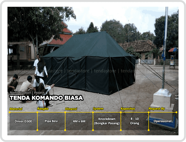 Tenda Komando - TNI - Camping