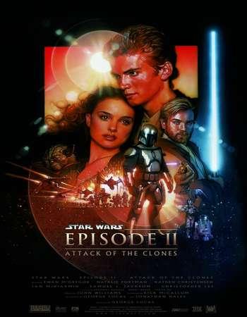Star Wars: Episode II - Attack of the Clones 2002 Hindi Dual Audio BRRip Full Movie Download