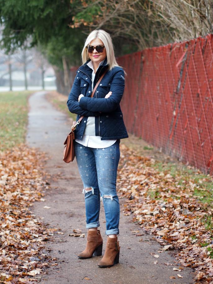 Embellished Jeans ~ Suburban Faux-Pas
