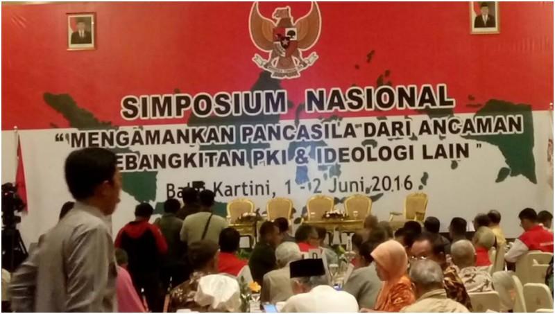 Simposium Anti PKI di Balai Kartini