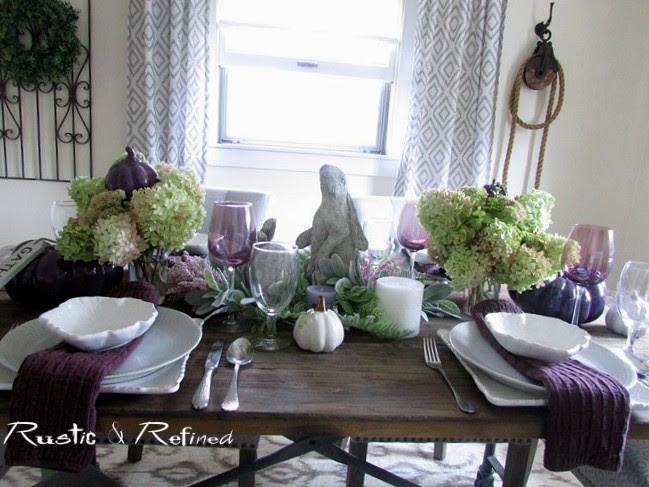 Tablescape for Fall or Autumn