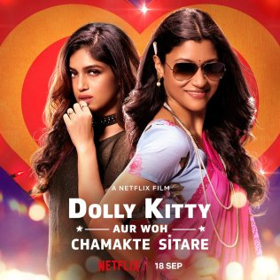 Dolly Kitty Aur Woh Chamakte Sitare new upcoming movie first look, Poster of Konkona Sen, Bhumi next movie download first look Poster, release date