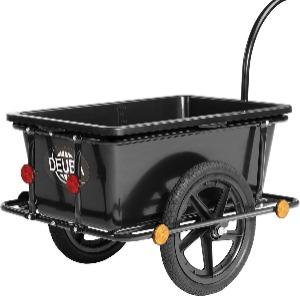Goedkope fietsaanhanger 90 liter Deuba