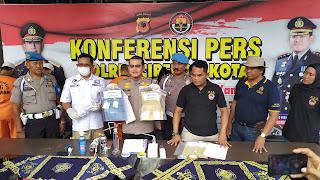 Satnarkoba Polres Cirebon Kota Ringkus Jaringan Pengedar Sabu - Sabu