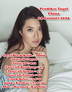 Prediksi Togel China 14 Januari 2020