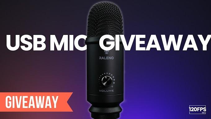 Sorteio Microfone condensador Raleno