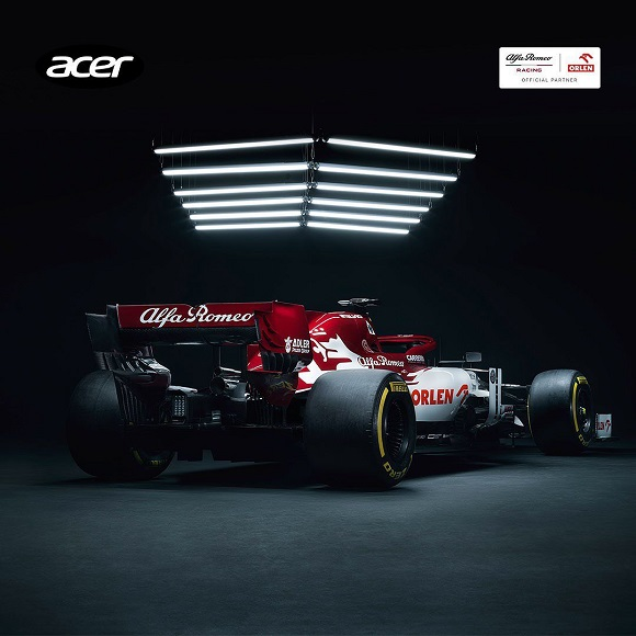 Alfa Romeo Racing ORLEN and Acer Partnership
