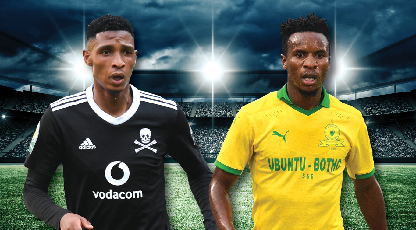 Vincent Pule and Themba Zwane will looking to inspire their teammates to victory