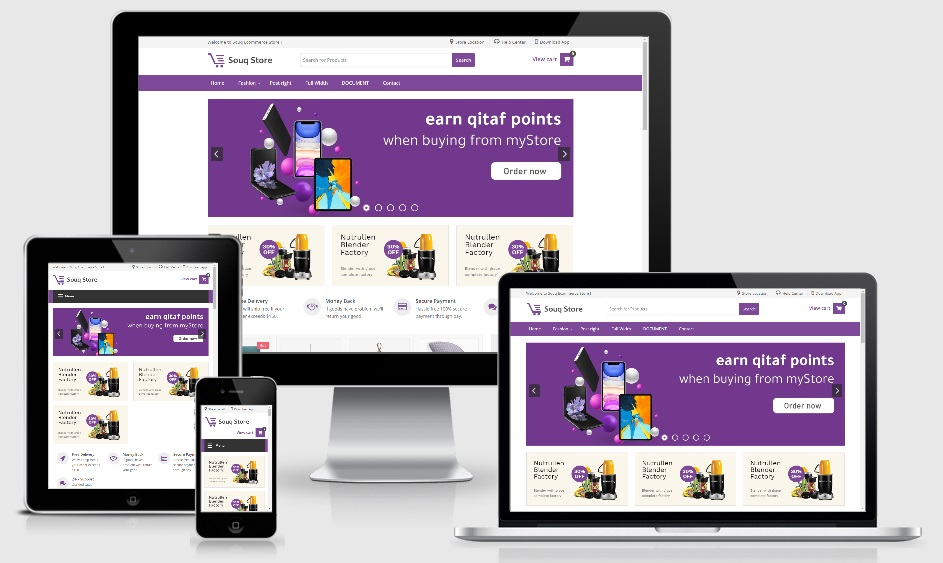 Souq Store Premium Ecommerce Blogger Template