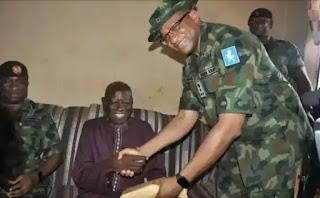 Samanja Gets N2m From Faruk Yahaya, Chief Of Army Staff