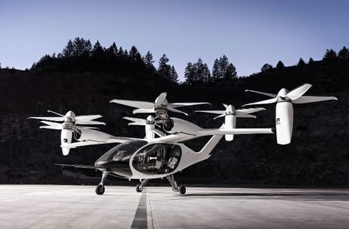 Electric flying taxis could soon become a reality
