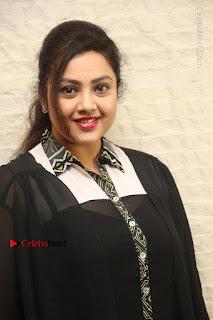 Tamil Actress Meena Latest Stills in Black Dress at TSR TV9 Awards Press Meet  0008.JPG