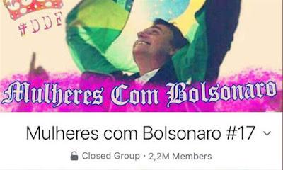 Grupo 'Mulheres contra Bolsonaro' é hackeado