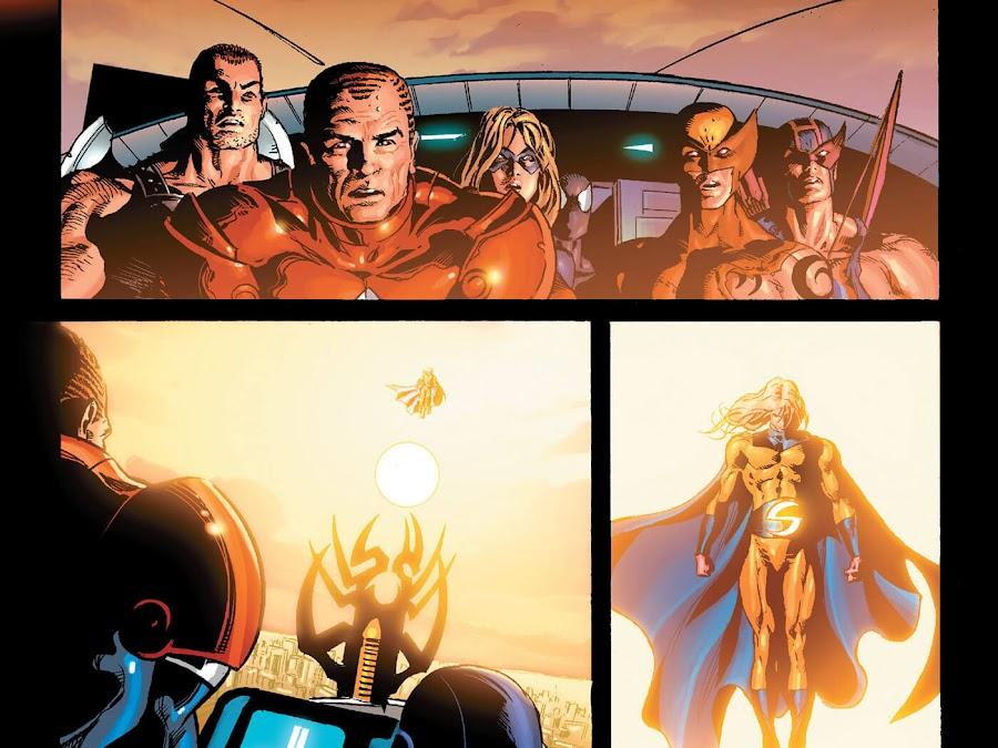 dark avengers assemble marvel comics ares bullseye daken mac gargan karla sofen noh-varr norman osborn sentry robert reynolds brian michael bendis mike deodato jr.