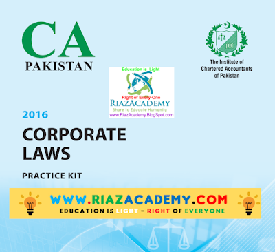 CFAP-02 Corporate Laws 2016 - Practice Kit