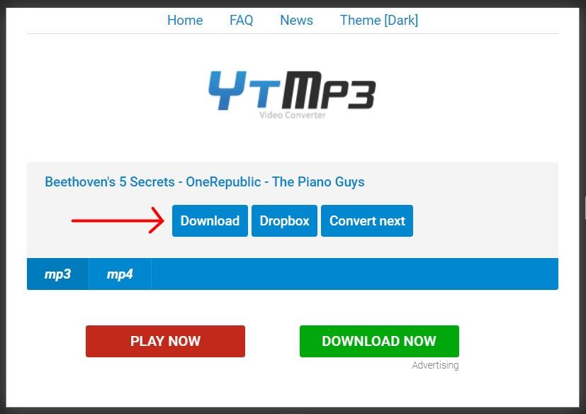 gunakan tombol download yang ditunjuk tanda merah