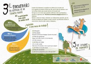 Programa III Encuentro en defensa de la escuela rural